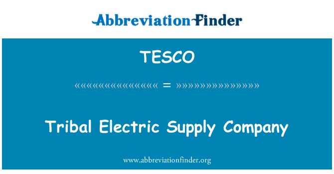 TESCO: Genčių elektros tiekimo įmonės