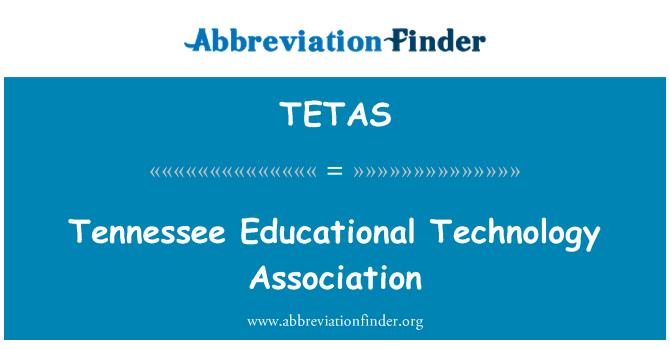 TETAS: Asociación de tecnología educativa de Tennessee