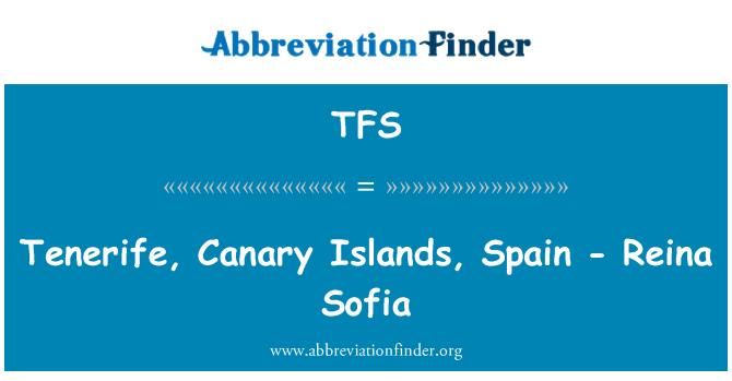 TFS: Tenerife, Canary Islands, Spain - Reina Sofia