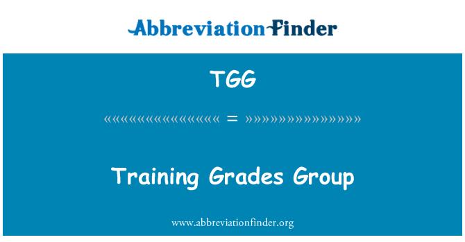 TGG: Eğitim notları grubu
