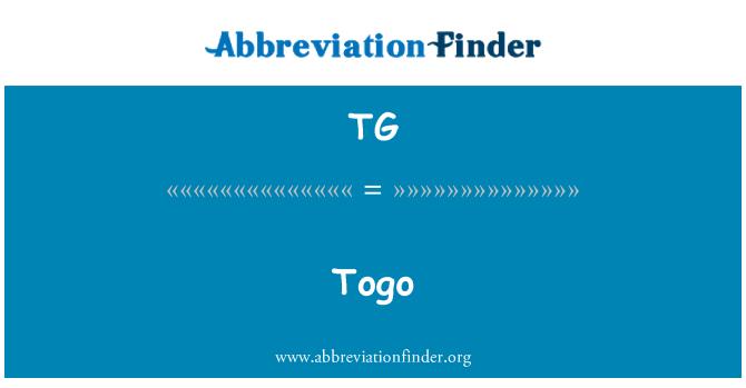 TG: Togo