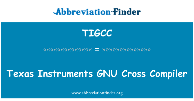 TIGCC: Texas Instruments GNU Cross Compiler
