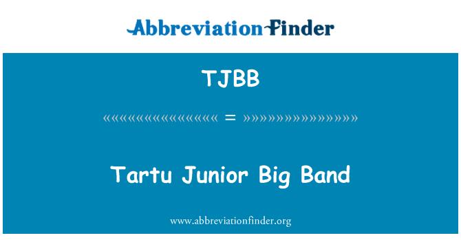 TJBB: Tartu Junior Big Band