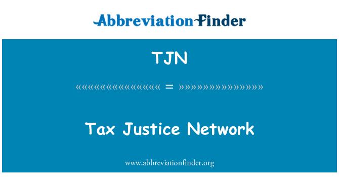 TJN: Rangkaian keadilan cukai