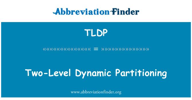 TLDP: 两级动态分区