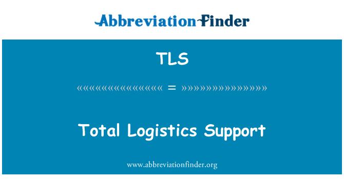 TLS: Total Logistics Support