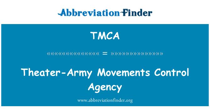 TMCA: Tiyatro-ordu hareketleri kontrol ajansı