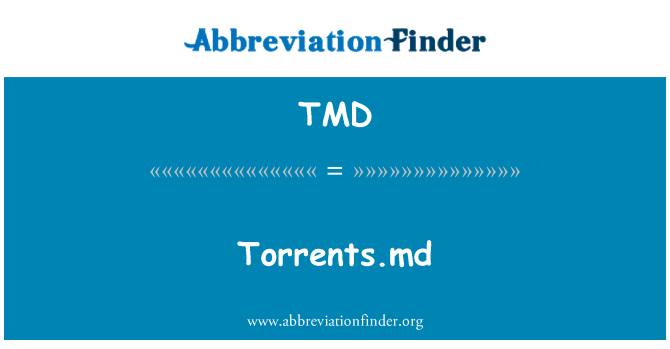 TMD: Torrents.md