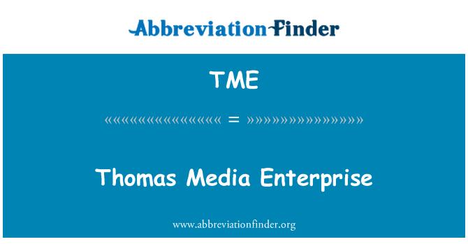 TME: Thomas Media Enterprise