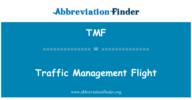 TMF: Traffic Management Flight