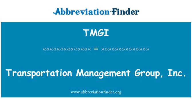 TMGI: Ulaşım Yönetimi Grup A.ş.