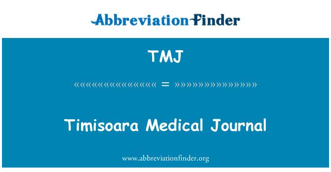 TMJ: Timisoara Medical Journal