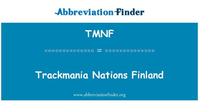 TMNF: Trackmania Nations Finland