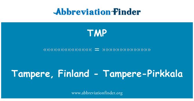 TMP: Tampere, Finland - Tampere-Pirkkala