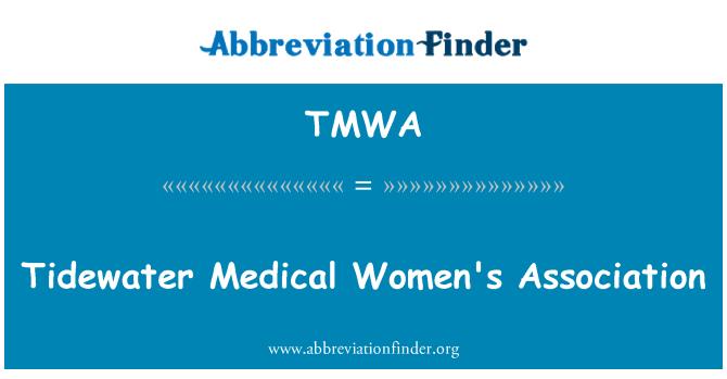 TMWA: Tidewater Medical Women's Association