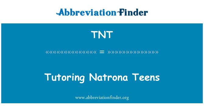 TNT: Tutoring Natrona Teens