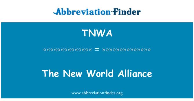 TNWA: نئی دنیا اتحاد