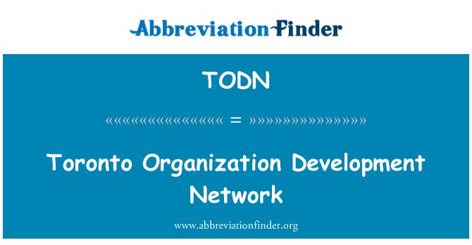 TODN: Toronto Organization Development Network