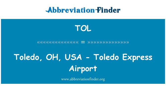 TOL: Toledo, OH, USA - Toledo Express Airport