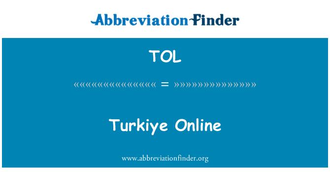 TOL: Turkiye Online