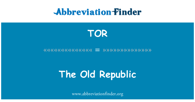 TOR: The Old Republic