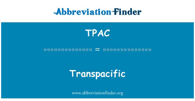 TPAC: Taşınıyor