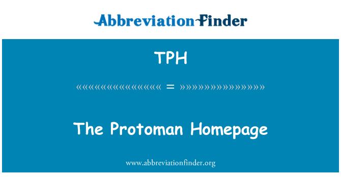 TPH: The Protoman Homepage