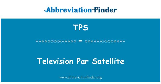 TPS: Television Par Satellite
