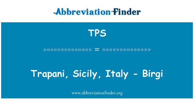 TPS: Trapani, Sicily, Italy - Birgi