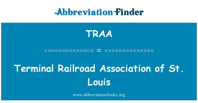 TRAA: Asociación terminal del ferrocarril de St. Louis
