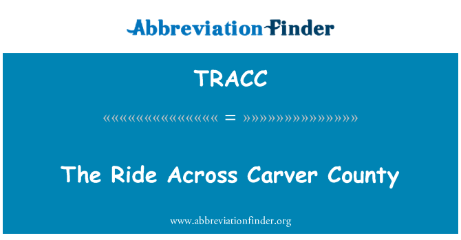 TRACC: The Ride Across Carver County