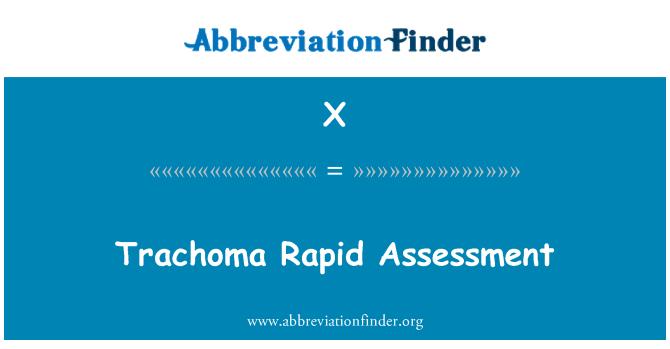 X: Trachoma pesat penilaian