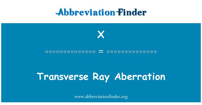 X: Melintang Ray Aberration