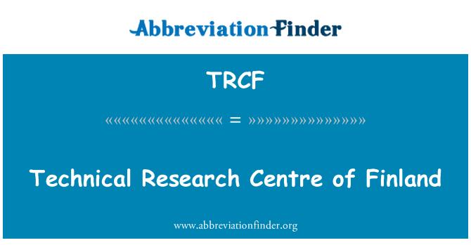 TRCF: 芬兰技术研究中心