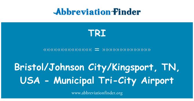 TRI: Bristol/Johnson City/Kingsport, TN, USA - Municipal Tri-City Airport