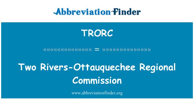 TRORC: Two Rivers-Ottauquechee Regional Commission
