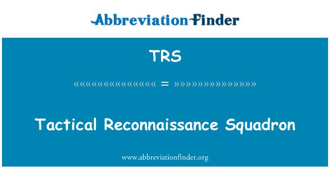 TRS: Tactical Reconnaissance Squadron