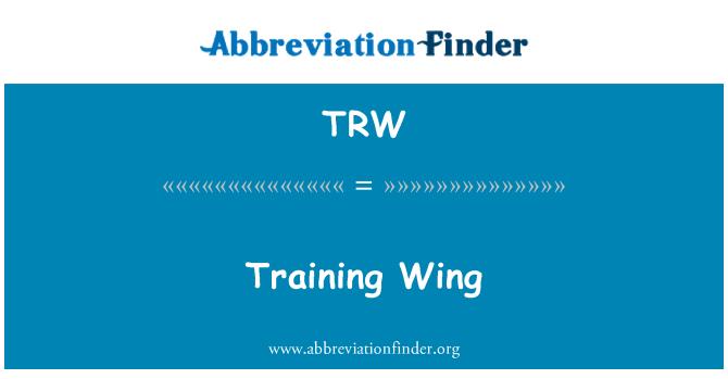 TRW: Training Wing