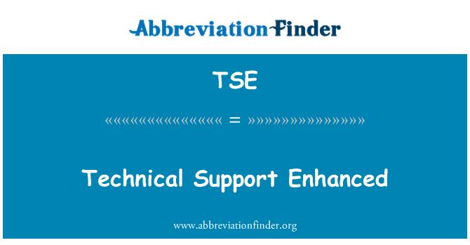 TSE: Technical Support Enhanced