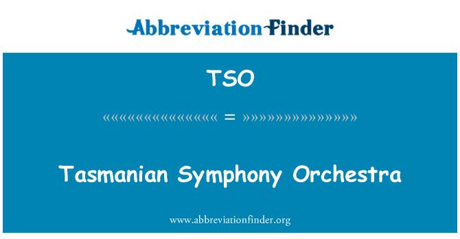 TSO: Tasmanian Symphony Orchestra