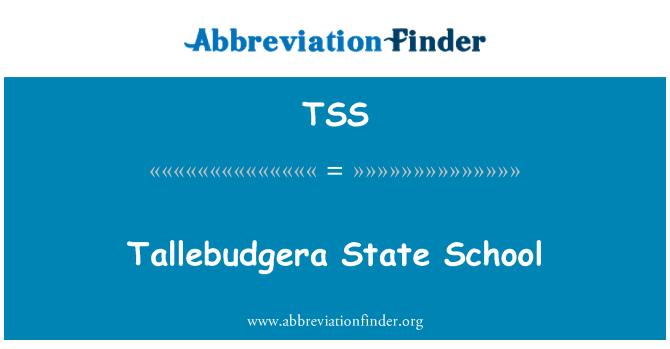 TSS: Tallebudgera State School