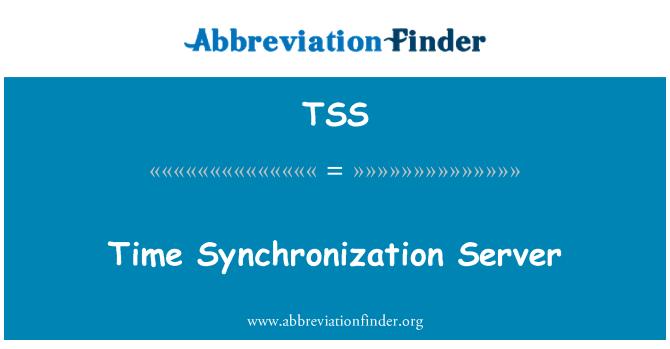 TSS: Time Synchronization Server