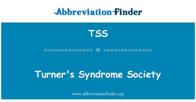 TSS: Turner's Syndrome Society