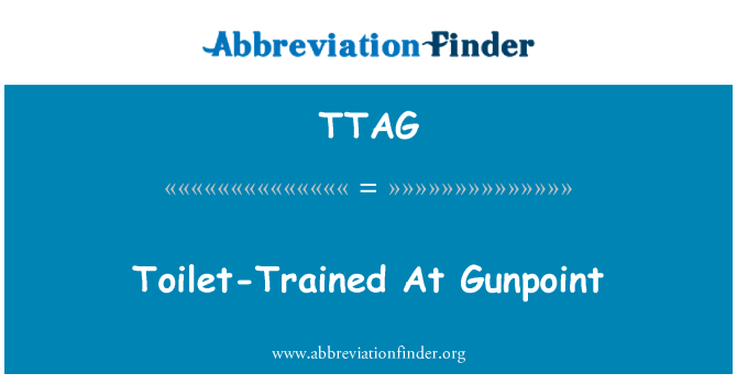 TTAG: Toilet-Trained At Gunpoint