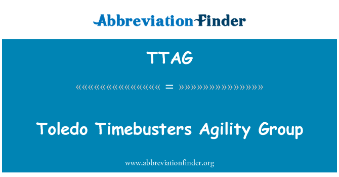 TTAG: Toledo Timebusters Agility Group