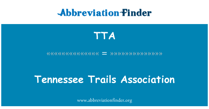 TTA: Tennessee Trails Association