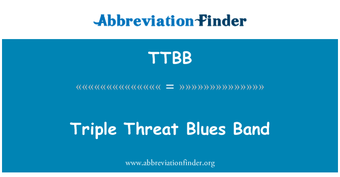 TTBB: Triple amenaza Blues Band