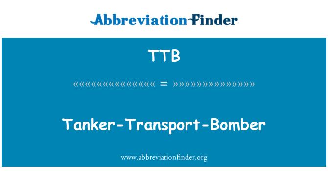 TTB: Tanker-Transport-Bomber
