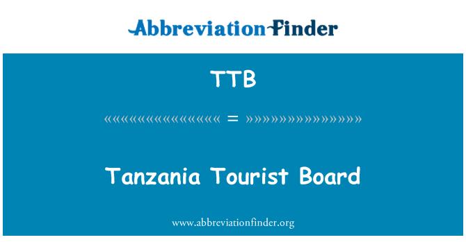 TTB: Tanzania Tourist Board