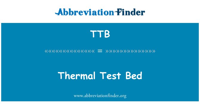 TTB: Thermal Test Bed